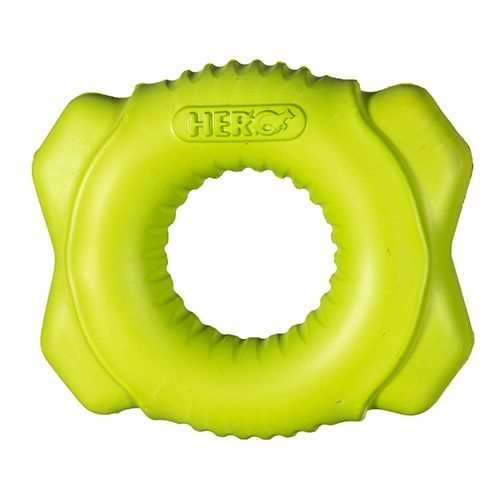 Hero Action Dogs  Hero  Durable Foam  Floating Fetch Ring Large