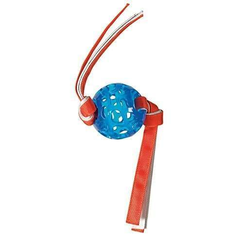 Hero Action Dogs  Hero  Soft Rubber  Ball with Canvas Tassles