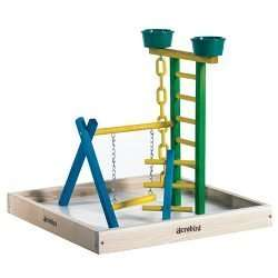 "18"" Junior Bird Playground with Cups"