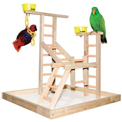 """20"""" Bird Playland with Cups"""