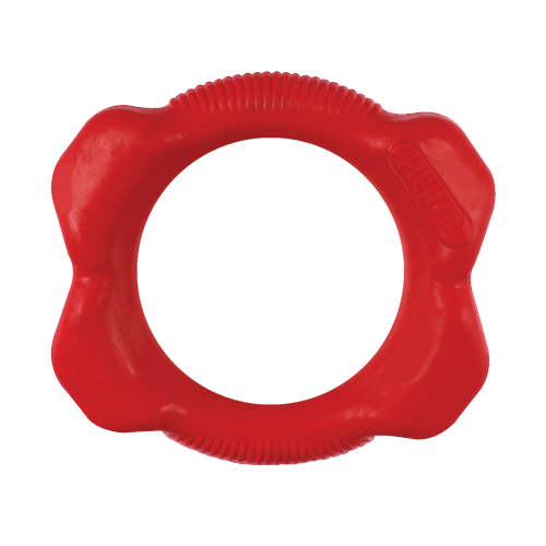 Hero Duramax Large Rubber Ring, Red